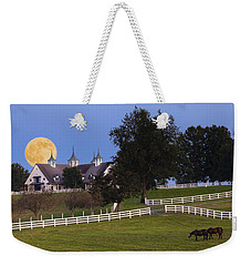 Bluegrass Moonrise Weekender Tote Bag