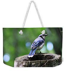 Bluejay Weekender Tote Bag
