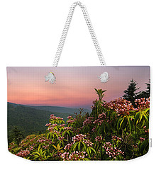 Blueridge Parkway Mountain Laurel Weekender Tote Bag