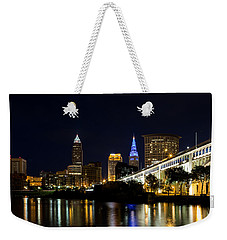 Blues In Cleveland Ohio Weekender Tote Bag by Dale Kincaid
