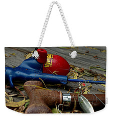 Weekender Tote Bag featuring the photograph Blured Memories 01 by Peter Piatt