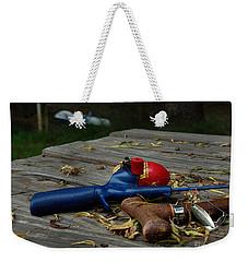 Weekender Tote Bag featuring the photograph Blured Memories 02 by Peter Piatt