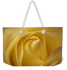 Blushing Cream Rose  Weekender Tote Bag