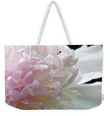 Blushing Peony  Weekender Tote Bag