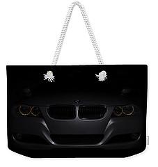 Bmw Car In Black Background Weekender Tote Bag