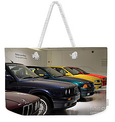 Bmw Cars Through The Years Munich Germany Weekender Tote Bag