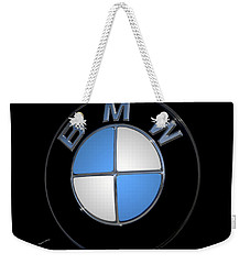 Bmw Emblem Weekender Tote Bag by DigiArt Diaries by Vicky B Fuller