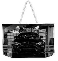 Bmw M4 Weekender Tote Bag by Douglas Pittman