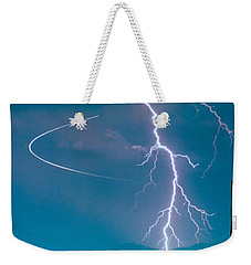 Bo Trek The Lightning Man Weekender Tote Bag