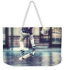 Boarder Bliss Weekender Tote Bag by Melanie Lankford Photography