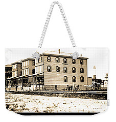 Boardinghouses And Cottages Atlantic City New Jersey C 1900 Weekender Tote Bag by A Gurmankin