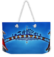 Boardwalk Arch In Ocean City Weekender Tote Bag