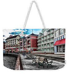 Boardwalk Early Morning Weekender Tote Bag by Thomas Woolworth