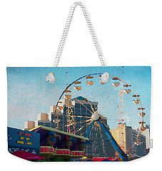 Boardwalk Ferris  Weekender Tote Bag