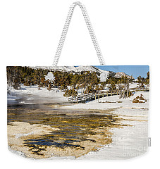 Boardwalk In The Park Weekender Tote Bag by Sue Smith