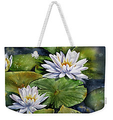 Boardwalk Lilies Weekender Tote Bag