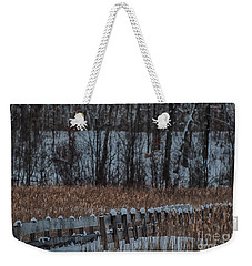 Weekender Tote Bag featuring the photograph Boardwalk Series No2 by Bianca Nadeau