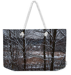 Weekender Tote Bag featuring the photograph Boardwalk Series No3 by Bianca Nadeau