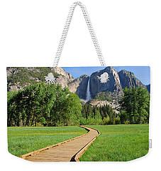 Boardwalk To Yosemite Falls  Weekender Tote Bag