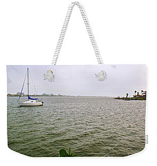 Boat And Catcus Weekender Tote Bag