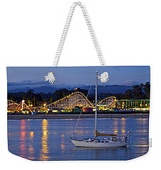 Boat At Twilight Weekender Tote Bag