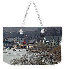 Philadelphia's Boat House Row  Weekender Tote Bag