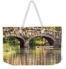 Boaters Under The Bridge Weekender Tote Bag
