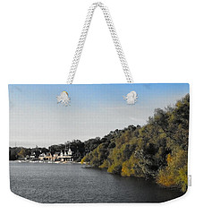 Boathouse II Weekender Tote Bag by Photographic Arts And Design Studio