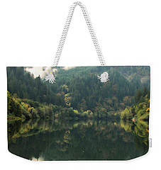 Boathouse Weekender Tote Bag by Katie Wing Vigil