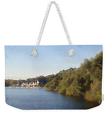 Boathouse Weekender Tote Bag by Photographic Arts And Design Studio