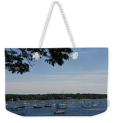 Boats At Rest Weekender Tote Bag by Denyse Duhaime