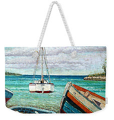Boats By The Bay Weekender Tote Bag