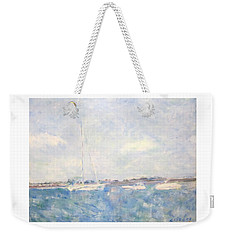 Boats On Lake Michigan In  Chicago Weekender Tote Bag