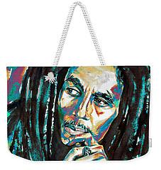 Bob Marley Watercolor Portrait.7 Weekender Tote Bag