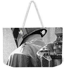 Boba Fett Costume 3 Weekender Tote Bag by Micah May