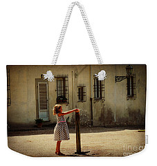 Boboli Bubbler Weekender Tote Bag by Valerie Reeves