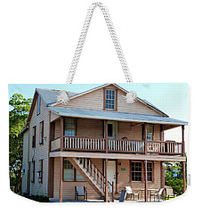 Weekender Tote Bag featuring the photograph Bodden House by Amar Sheow