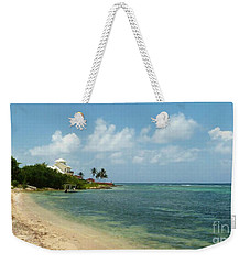 Bodden Town Approach Weekender Tote Bag by Amar Sheow