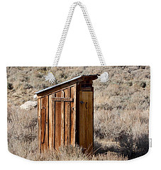 Bodie Outhouse Weekender Tote Bag by Art Block Collections