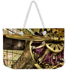Boeing 80a-1 Passenger Airplane Weekender Tote Bag by David Patterson