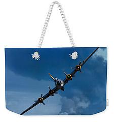 Boeing B-17 Flying Fortress Weekender Tote Bag by Adam Romanowicz