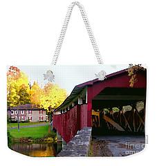 Bogerts Covered Bridge Allentown Pa Weekender Tote Bag