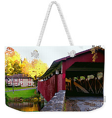 Bogerts Covered Bridge Allentown Pa Weekender Tote Bag