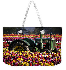 Bogged Down By Color Weekender Tote Bag by Wes and Dotty Weber