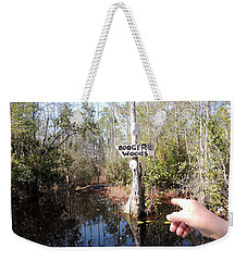 Bogger Woods Weekender Tote Bag by Kim Pate
