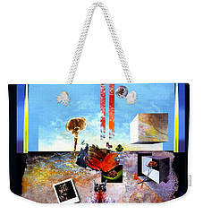 Weekender Tote Bag featuring the painting Bogomil Objects by Otto Rapp