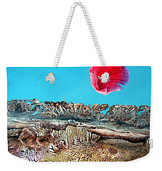 Weekender Tote Bag featuring the painting Bogomil Sunrise 2 by Otto Rapp
