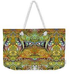 Weekender Tote Bag featuring the digital art Bogomil Variation 12 by Otto Rapp