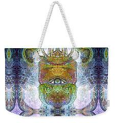 Weekender Tote Bag featuring the digital art Bogomil Variation 15 by Otto Rapp