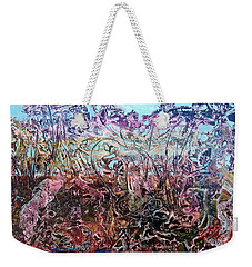 Weekender Tote Bag featuring the painting Bogomils Vegetable Garden  by Otto Rapp